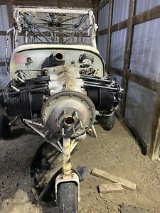 LYCOMING ENGINE O- 290 D ENGINE With Propeller For Tri Pacer