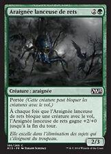 MTG Magic M15 FOIL - Netcaster Spider/Araignée lanceuse de rets, French/VF