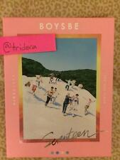Seventeen Boys Be 2nd Mini Album Hide Version KPOP Photobook Sticker Postcards