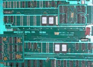 PAC-MAN & MS PACMAN Arcade Game PCB Board REPAIR Service