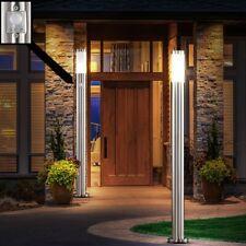 4er Set Edelstahl Steh Leuchten Einfahrt Bewegungsmelder Außen Stand Beleuchtung