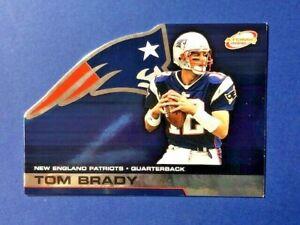 "Tom Brady  ~ 2002 Pacific ""Atomic"" ~ Die Cut Card #56  New England Patriots RARE"