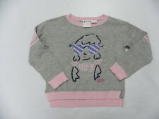 Roxy Kids 5T Top Shirt Moonlight Sweater Grey
