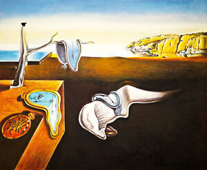 The Persistence of Memory by Salvador Dali Huge 120cm x 99cm Canvas Print