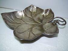 "Antique WMF Art Nouveau Acorns SilverplatedBrass Serving Plate Beehive Mark W10"""