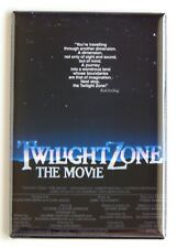 Twilight Zone the Movie Fridge Magnet movie poster