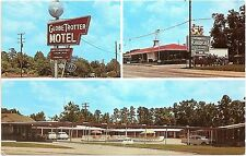 Globe Trotter Motor Hotel & Howard Johnson's - Longview Texas TX Chrome Postcard