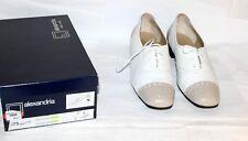 Alexandria Italy * Damen-Schuhe * 9275 * Leder * Bi-Color * Gr.40,5/ 7 * 11062