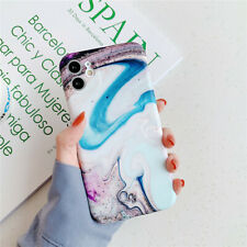 For iPhone SE 2020 11 Pro Max XR 8 7 6s Plus Marble Pattern Slim Back Case Cover