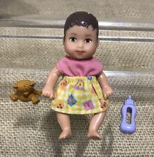 Barbie Happy Family Barbie Baby Krissy Barbie Baby Chrissy Brown Eyes Hair