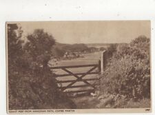 Coast Peep From Hangman Path Combe Martin Vintage Postcard 637a