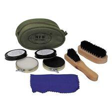 Shoe Olive 2 Brushes 2 Shoe Crem Shoe Care Grooming Kit