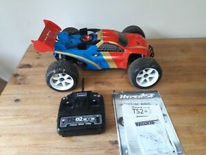 Hobao Hyper ST RTR 1/8TH NITRO TRUGGY used twice from new