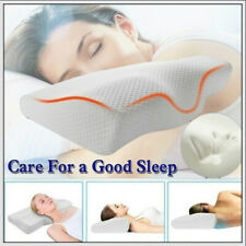 Memory Foam Breathe Sleep Pillow Contour Cervical Orthopedic Neck Bed Support US