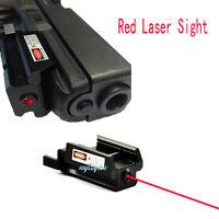 US Red Dot Laser sight 20mm picatinny Weaver rail Mount Pistol Gun Rifle Hunting