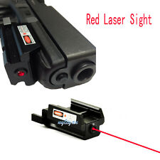 Mini Low Profile Red Dot Laser Sight With 20mm Picatinny Rail For Pistol Gun