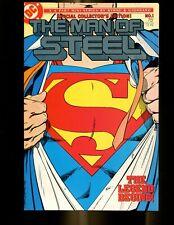 MAN OF STEEL 1 (9.4) 1ST EVER VARIANT COVER JOHN BYRNE  DC (B031)