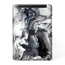 Skins Decal Wrap for Apple iPad 9.7 2017 Marble White Grey Swirl Beautiful