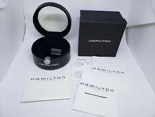 Hamilton Empty Watch Box Manual Instructions Tag Guarantee Digital Chronograph