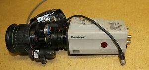 Panasonic AW-E860 3 CCD Camera with SDI output card and Canon Lens
