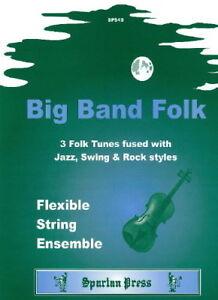 Big Band Folk Traditional Arr: Brian Harrison String Orchestra, Flexible String