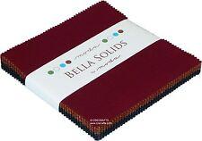 Bella Solids Kansas Moda Charm Pack 100% Cotton 5 Inch Precut Fabric Squares
