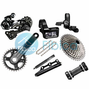 New Shimano Deore XT Di2 M8050 M8000 11-speed Full Group Groupset 170/175mm