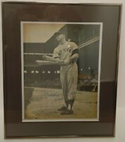 Mickey Mantle NY Yankees Signed Magazine Page 11x14 Framed w/COA