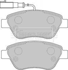 Borg & Beck Pastillas de Freno Set BBP1716 - Original-5 Años Garantía