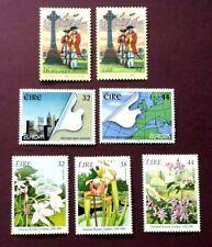 IRELAND 1995 - EUROPA/BOTANIC GARDENS/IRISH BRIGADE SETS  - MINT NEVER HINGED