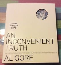 Vice President Al Gore Signed Auto Autographed Rare Book An Inconvenient Truth