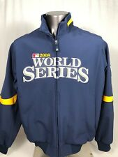 PHILADELPHIA PHILLIES AUTHENTIC 2008 WORLD SERIES MAJESTIC JACKET ADULT LARGE