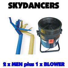 Air Dancer Sky Dancer Inflatable Man ONE Fan & 2 x fabric Men