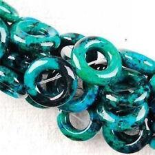 "Jewelry Accessories 20mm Azurite Chrysocolla Gemstone Loose Beads 15 """