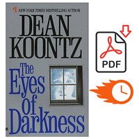 The Eyes of Darkness by Dean Koontz 📗{P.D.F}📗 Instant Delivery ⚡