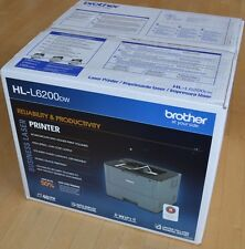 New Brother HL-L6200DW Laser Wireless Network Mono Laser Printer up to 48ppm
