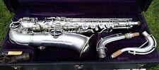 """Vintage 1925 """"Chu Berry"""" Conn C Melody Saxophone 2 necks!"""