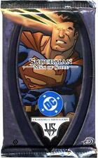 Superman Man of Steel Sealed Booster - Vs System DC TCG