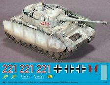 Peddinghaus 1/16 Panzer IV Ausf.H Markings Pz.R. 35 / 4. Pz.Div Russia 1944 3530