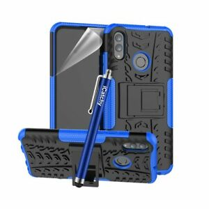 For Huawei P smart 2019 Case Hybrid Shockproof Rugged Stand Armor Back Cover