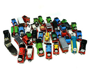 Lot of 41 Pieces Thomas & Friends Die-cast Metal Toy Trains Vehicles Mixed Lot B