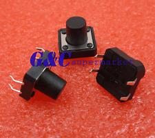 100pcs 4-pin Dip Tactile Push Button Switch Tact Switch 12X12X10mm