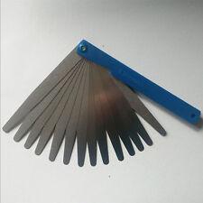 0.02 to1mm Blades Thickness Gauge Metric Filler Feeler Gauge Measure Tool Useful
