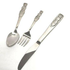 Oneida Peter Rabbit Stainless Flatware Your Choice  Betty Crocker flatware