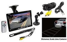 "New PLCM7500 7"" LCD Window Suction Mount Monitor + License Plate Backup Camera"