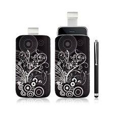coque étui pochette pour Apple Ipod Touch 1G/2G/3G/4G avec motif + stylet luxe