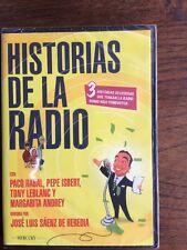 Dvd Cine Español. Historia de la radio Paco Rabal Pepe Isbert Tony Leblanc