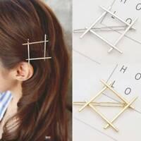 Fashion Girls Hairpins Geometry Cute Hair Clips Hair Pin Accessories Delicate