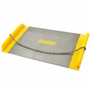 "Guardian Dock Board 48"" x 60"" Plate Ramp 10,000 lb Capacity"