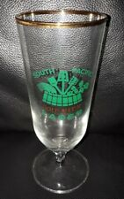 RARE COLLECTABLE SOUTH PACIFIC GOLD MEDAL LAGER BEER GLASS GREAT USED CONDITION